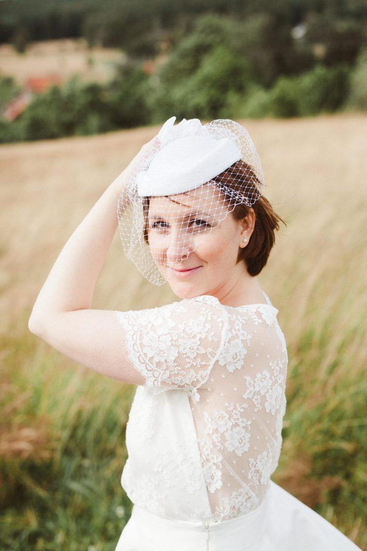 Robe de mariée dentelle et fluide - Aurélie 2