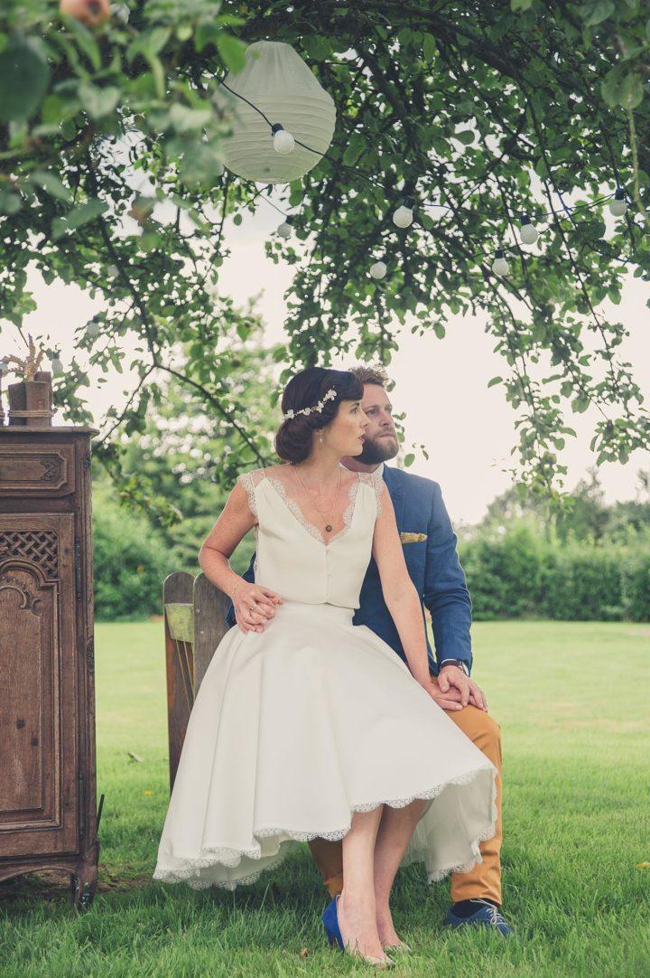 Robe de mariée française - Amandine