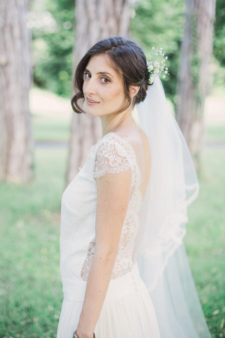 Robe de mariée dentelle et chic - aurore