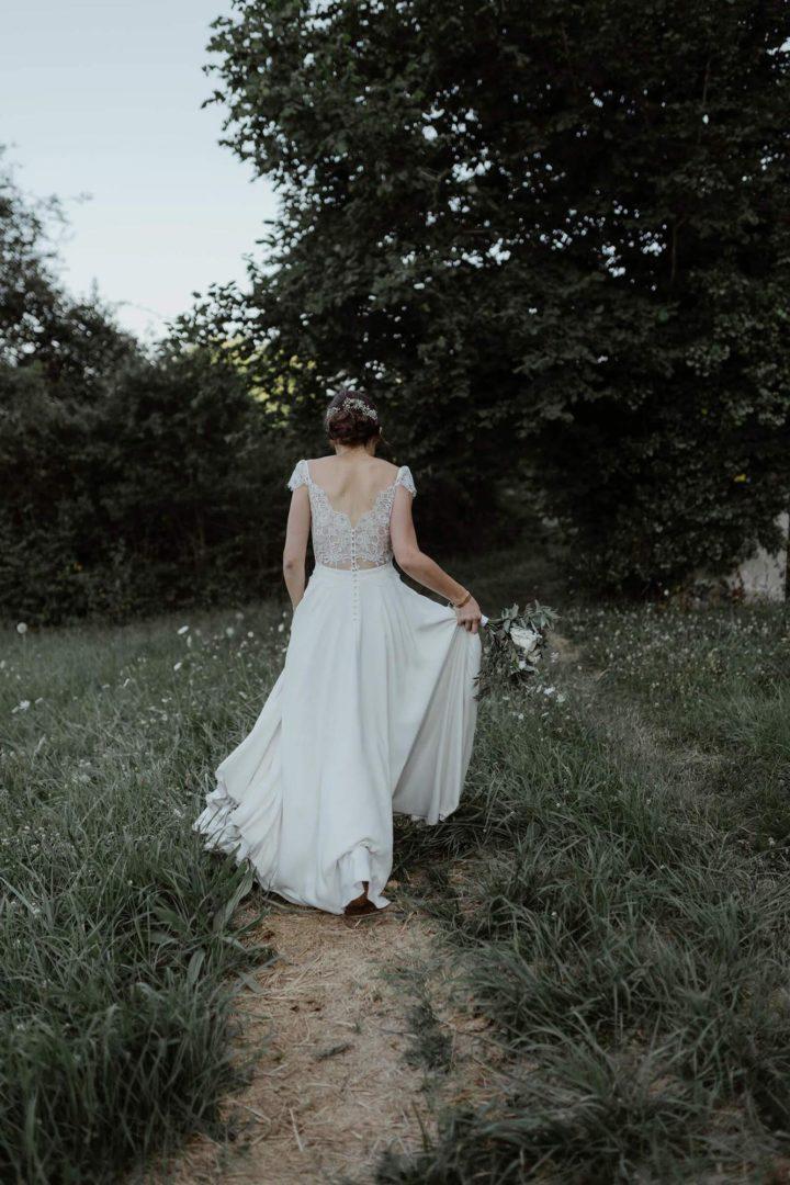 Prix robe de mariée sur mesure Flavie