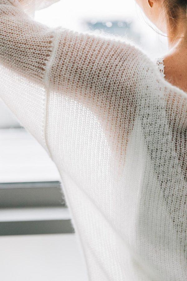 Robe de mariée d'hiver sur mesure