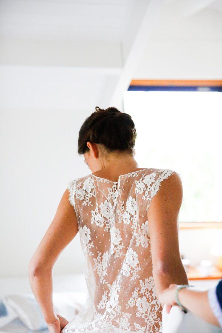 Robe de mariée sur mesure paris - Marion 1