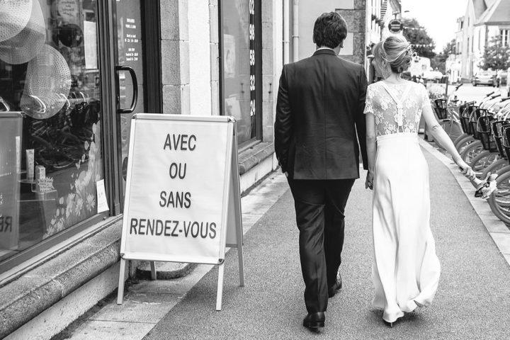 Robe de mariée rétro paris - Sophie