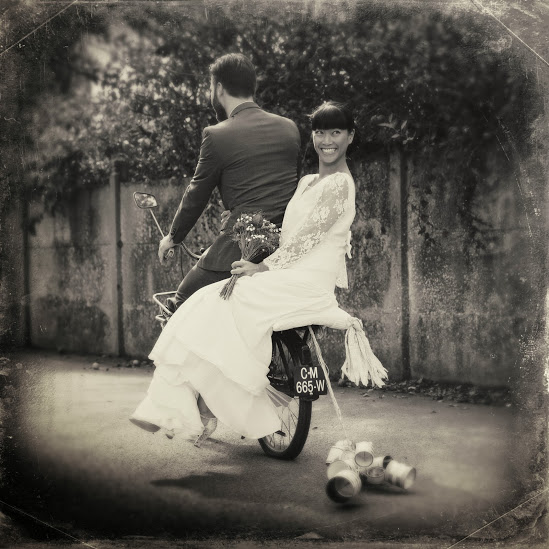 Robe de mariée créatrice - Dao1