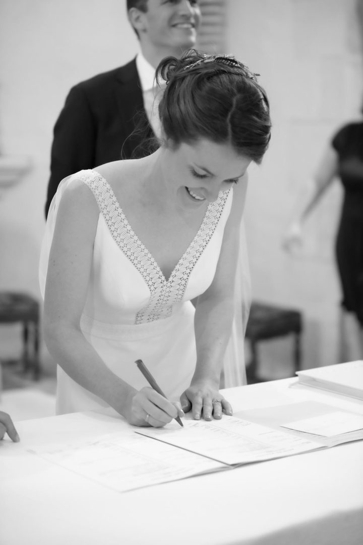 Robe de mariee creatrice parisienne Stephanie