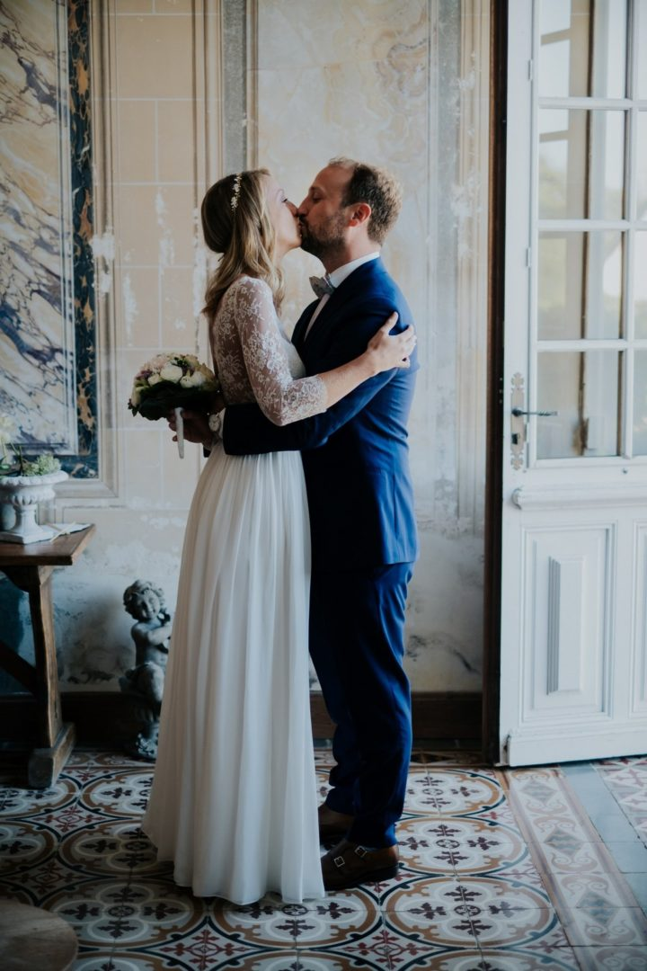 Robe de mariee sur mesure Paris Justine