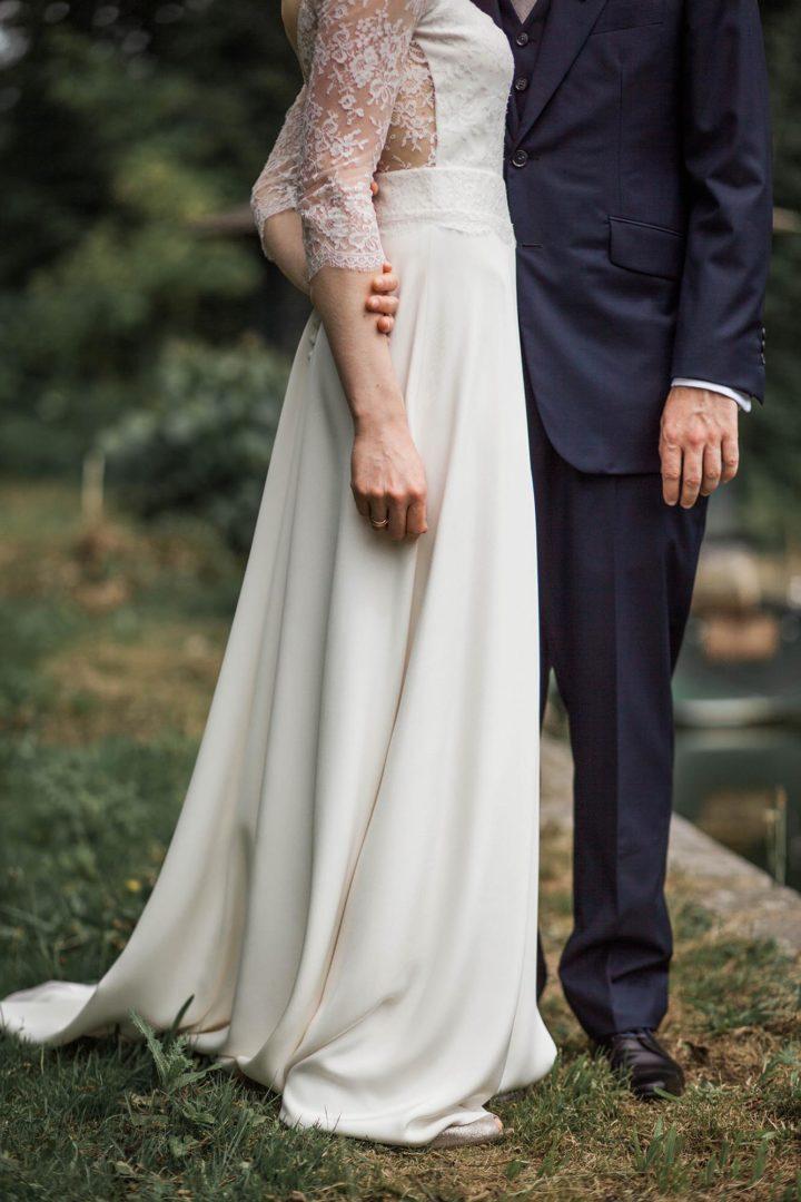 Robe de mariée créatrice parisienne