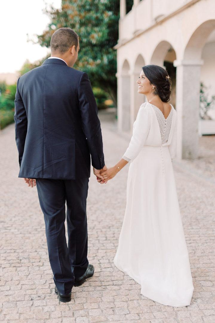 Robe de mariee manche longue Cécile