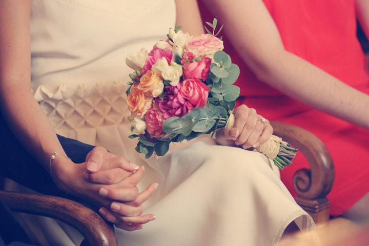 Robe de mariée graphique - Johanna
