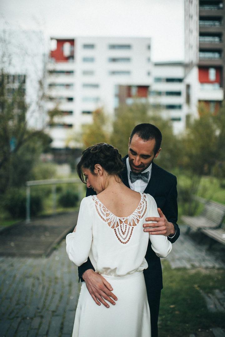 Robe de mariée haut de gamme - Anne 1
