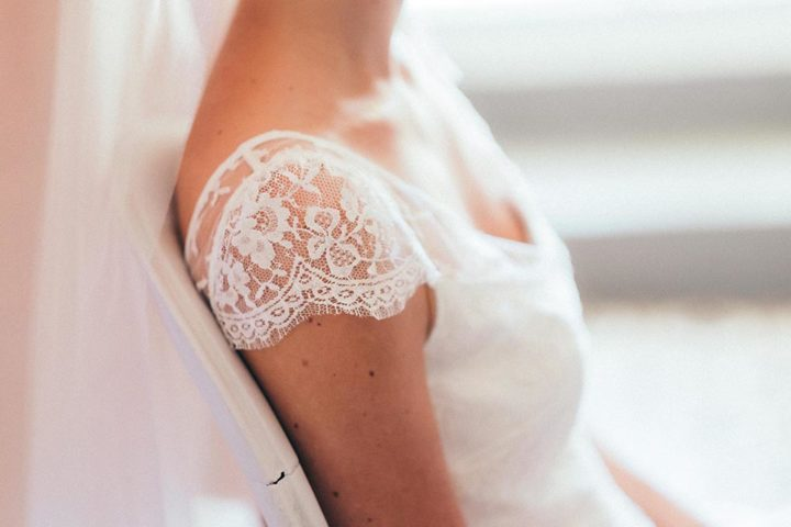 Robe de mariée française - Mathilde 3