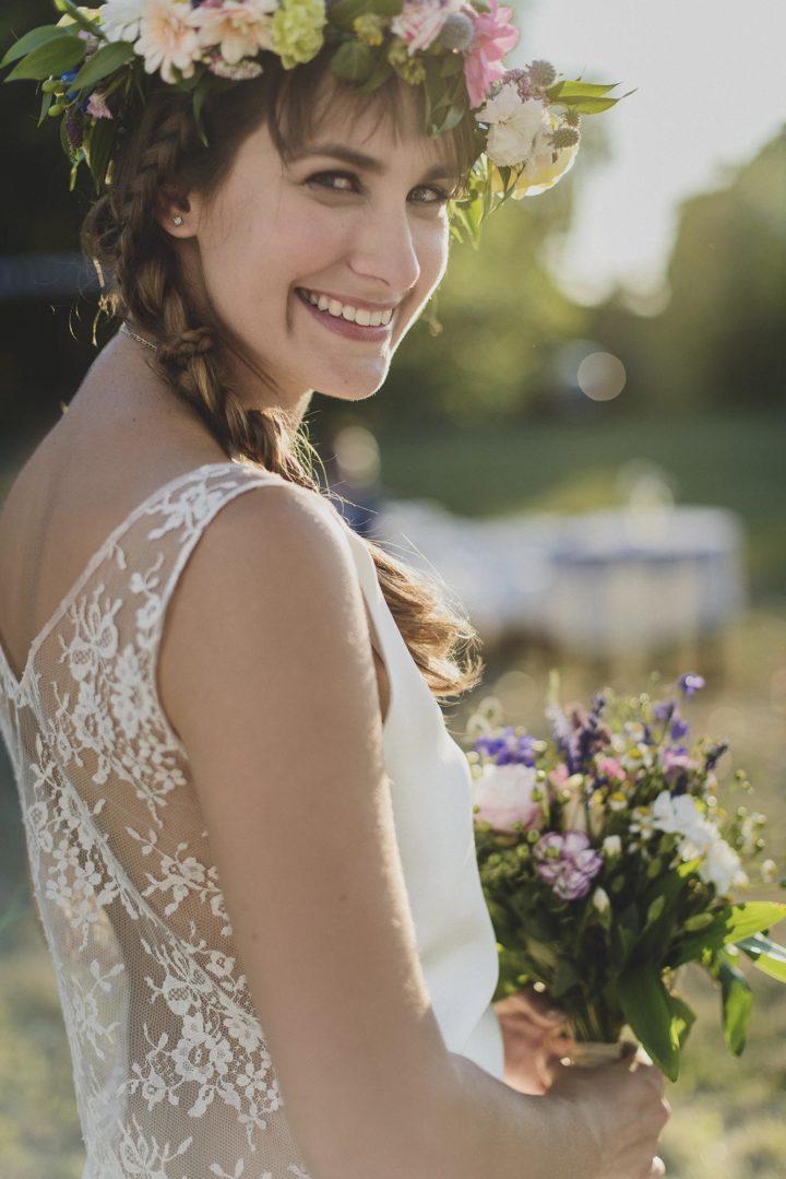 Robe de mariee creatrice parisienne - Claudia