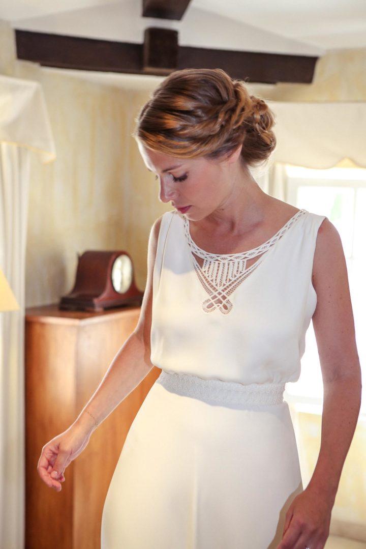 Robe de mariée simple et chic - Margot
