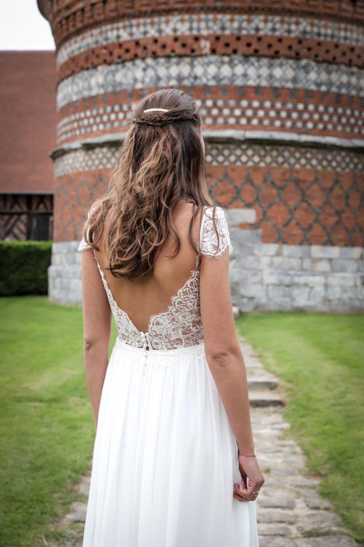 Petit créateur robe de mariée Paris Marion