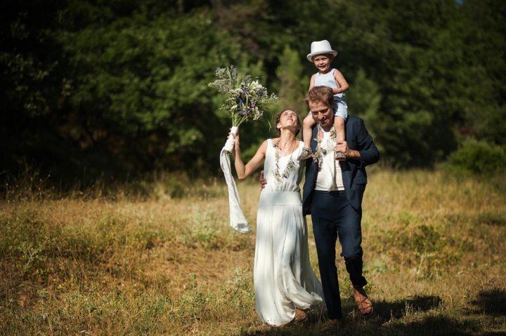 Robe de mariée française - Claire