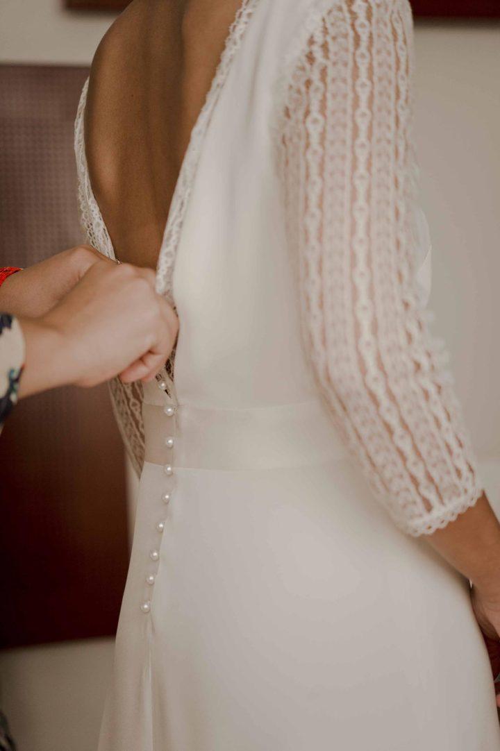 Createur robe de mariée paris Nina