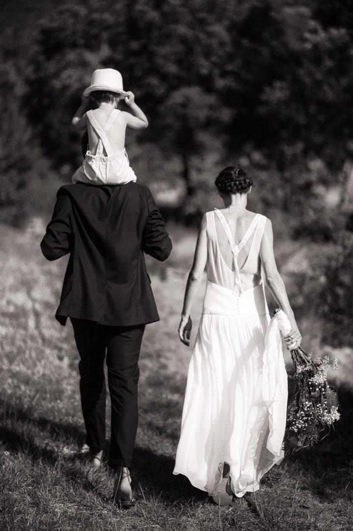 Robe de mariée française