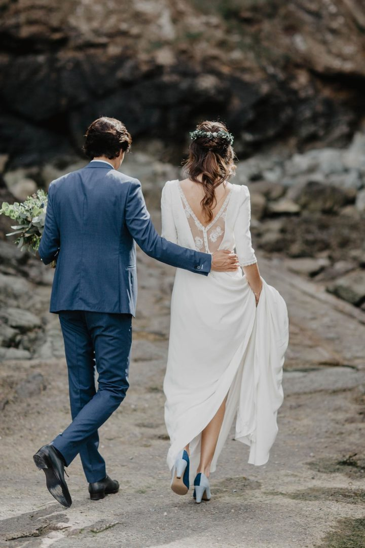 Robe de mariée sur mesure paris-Amandine