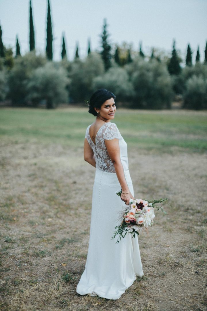 Robe de mariée sur mesure paris-Stéphanie