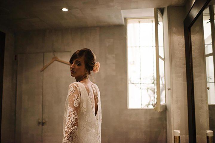Petit créateur parisien robe de mariée - Aurelie