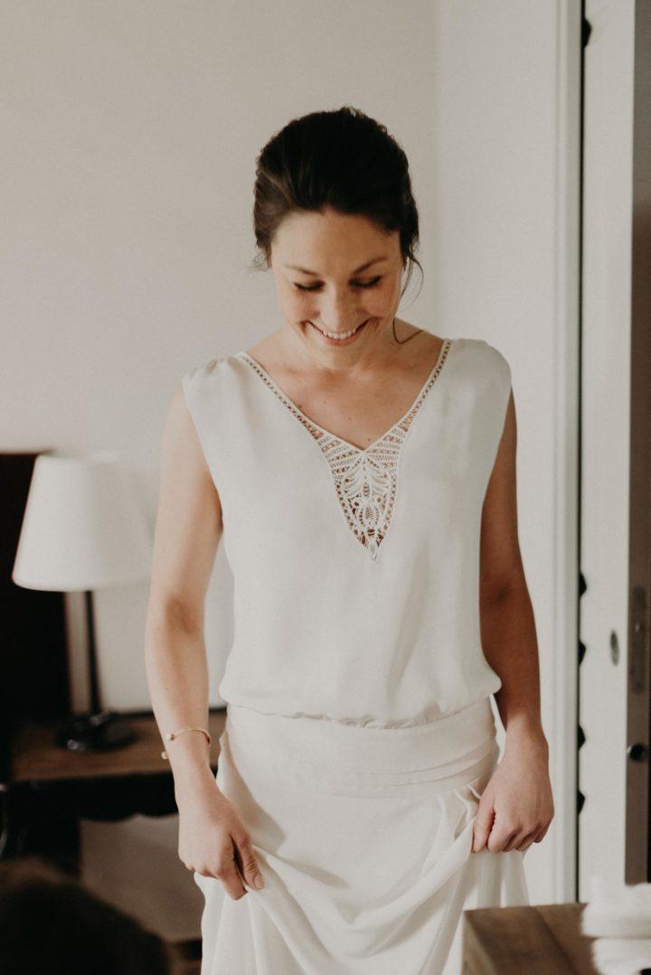 Createur robe de mariée paris - Adélaide