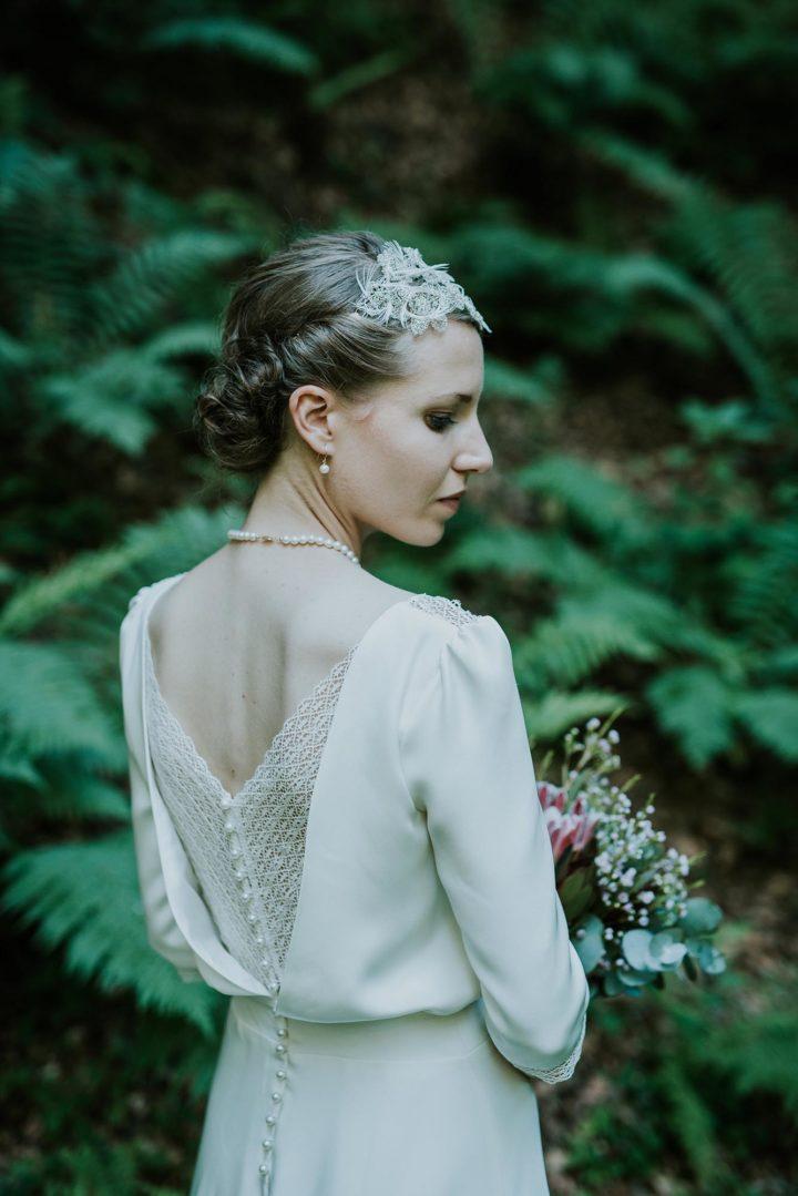 Robe de mariée bohème paris - Ella