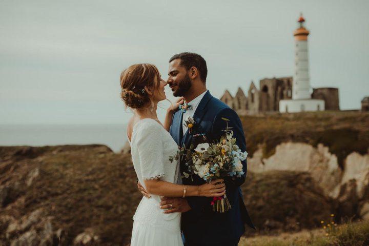 Robe de mariée créatrice parisienne - Sophie