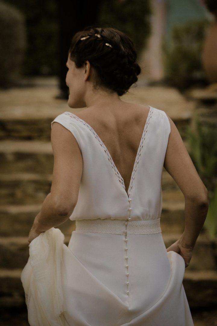 Robe de mariée créatrice paris - Camille 1
