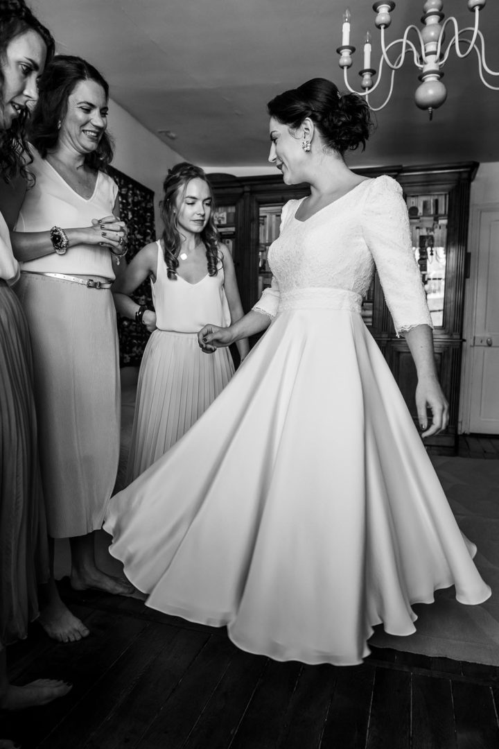 Robe de mariée paris créateur Lucile