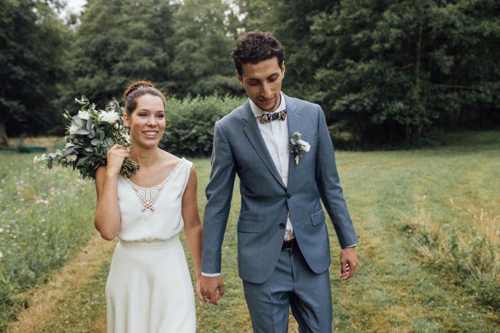 Robe de mariée collection 2019 Marine
