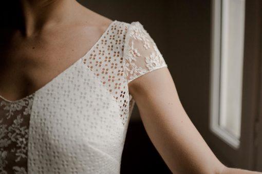 Robe de mariee haut de gamme Top Doriana et Jupe Lizzie Collection 2020