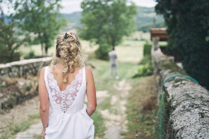 créatrice robe de mariée sur mesure paris