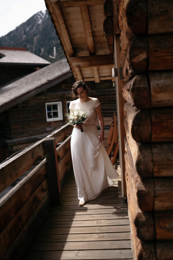 Robe de mariée sur-mesure créatrice parisienne