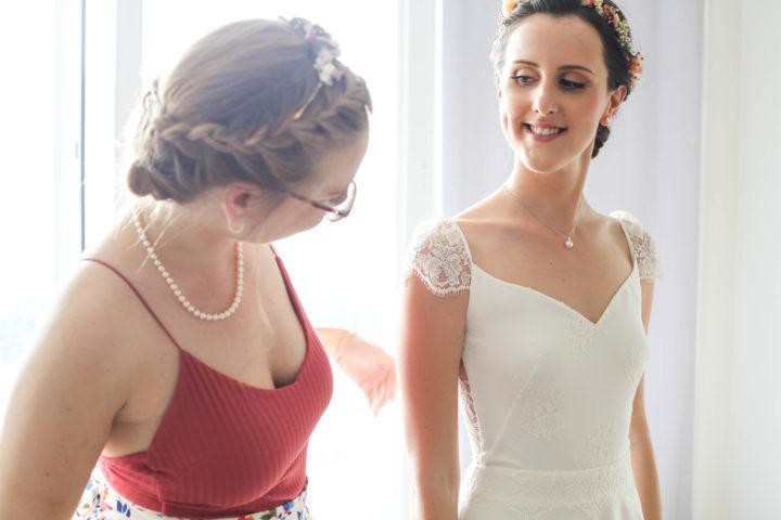 robe de mariée sur-mesure Paris